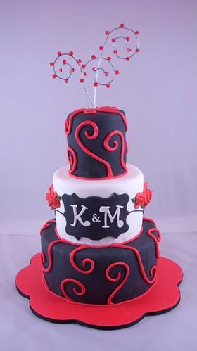 Karren's wedding cake