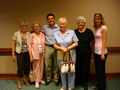 The ladies with Rep. Rose