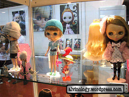 Prettier looking Blythe dolls