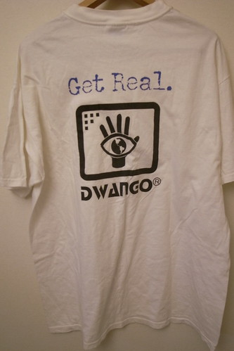 旧ドワンゴTシャツ