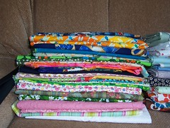 American and Japanese Patchwork Fabrics