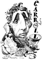 CARROLL, Lewis (Morales de los Ros) Tags: writers caricaturas philosophers caricatures escritores filsofos