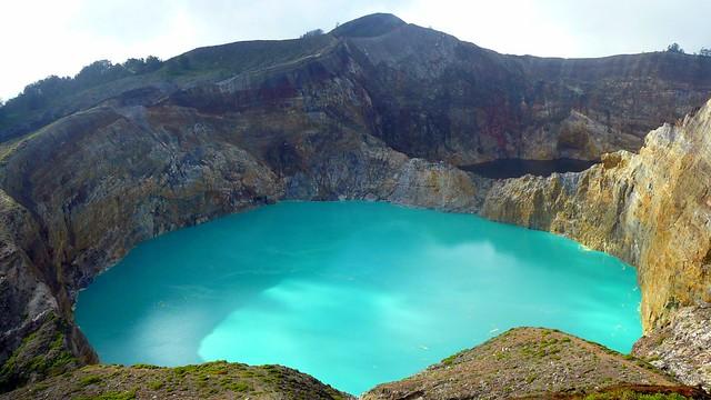 Kelimutu Volcano Lake Flores