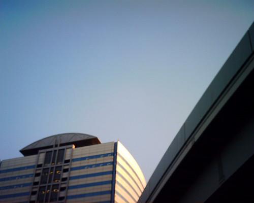 【写真】VQ1005で撮影したニューピア竹芝サウスタワー