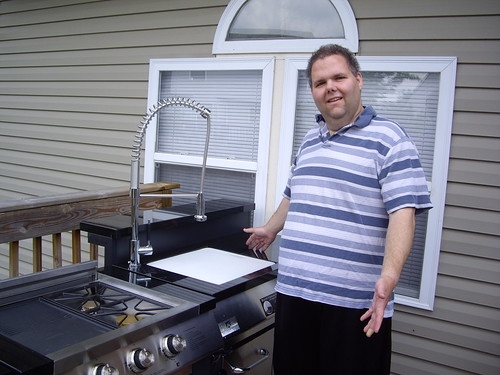 New Grill - Stove and Sink