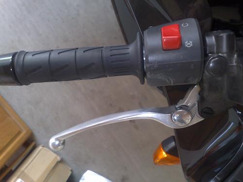 Factory brake lever