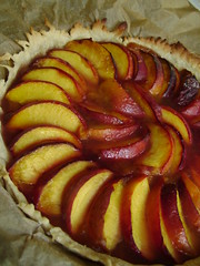 Two Peach & Cardamon Tart