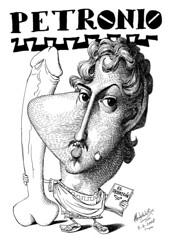 PETRONIO, Tito rbitro (Morales de los Ros) Tags: writers caricaturas philosophers caricatures escritores filsofos