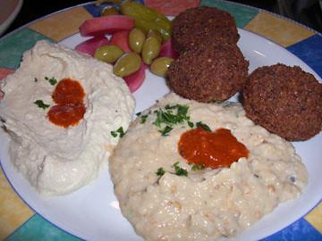 Jerusalem Mazaa Platter