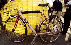 Gucci bike (fotosniper) Tags: nyc bike bicycle gucci fixedgear messenger bikeproject fotosniper eoz