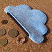 Cloudy coin purse
