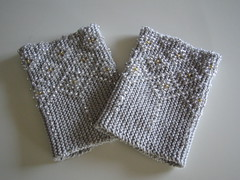 Beaded Wristwarmers