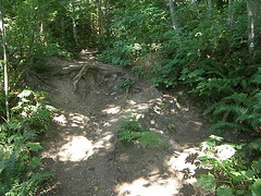 Probably the steepest but brief part of the Cedar Butte trail. (bikejr) Tags: ironhorse cedarbutte
