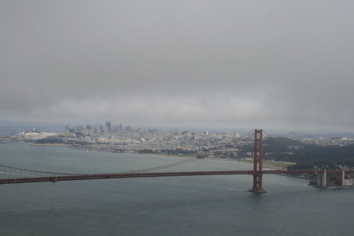 The Golden Gate and San Fran