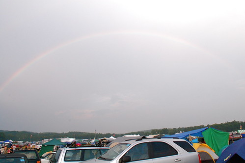 Rainbow Over Grey Fox