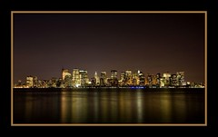 """City that NEVER sleeps!"" (Jae's pics~) Tags: longexposure reflection colors night buildings reflections lights nightlights nycskyline jerseycitynj canoneos5d explore~ viewofnyc canonef1635mmf28liiusm viewofnewyorkcity takenfromlibertystatepark"