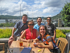 Lunch at Poet's Cove