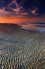 St Aug Beach August Sundown (JamesWatkins) Tags: ocean sunset sea seascape art beach water writing sand poetry waves shorelines sundown florida digitalart creative atlantic writers beaches photographicart poems atlanticoc