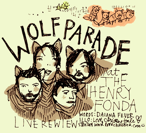 WOLF PARADE title