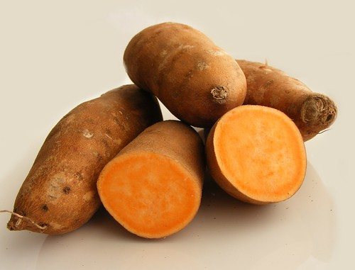 Yam or Sweet potato (orange kind)