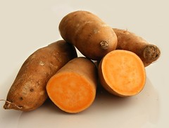 Yams (Sweet potatoes - orange kind)