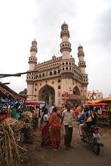 Outdoor Market at the Charminar
