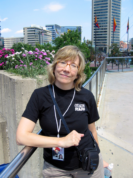 Alyce on the Skywalk (Click to enlarge)