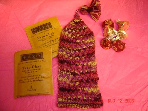 "Yarnsmackdown 2008 ""Diamond Lace"" Bookmark"