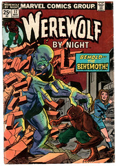 Werewolf by Night 17 (Todd Wilson) Tags: werewolf comics marvelcomics werewolfbynight