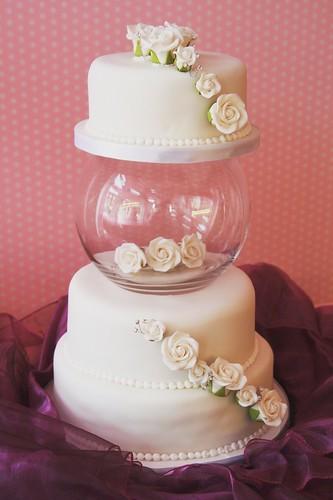 wedding cake3 tier glass bowl