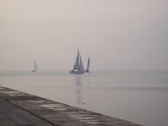Sailboat (Tilemahos Efthimiadis) Tags: sea sailboat boat hellas greece macedonia 100views sail thessaloniki 50views makedonia     platinumheartaward    address:country=greece address:city=thessaloniki
