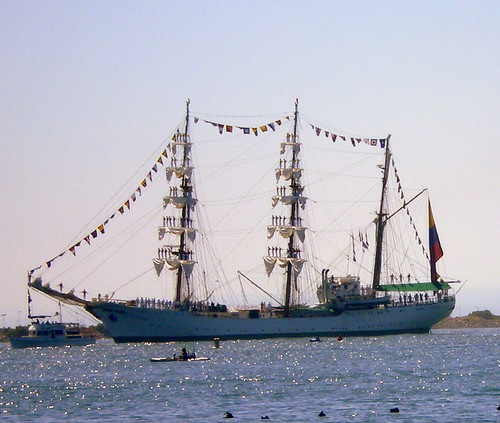 "Tall Ship ""Gloria"" in San Diego"