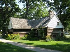 Doty cabin, Doty Island, Wisconsin