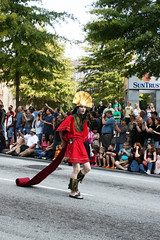 Dragon*Con 2008 - Parade 10 (LaMenta3) Tags: comics cosplay cartoon llama science disney parade fantasy scifi videogame kuzco emperorsnewgroove dragoncon dragoncon2008