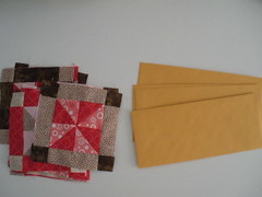 Start with blocks and envelopes