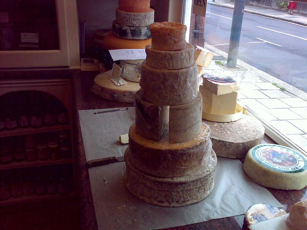 Wedding Cheese Prototype