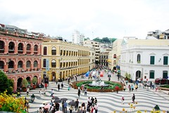 Senado Square  (Melinda ^..^) Tags: china plaza city central mel melinda macau worldheritage portugese senadosquare  anawesomeshot betterthangood chanmelmel