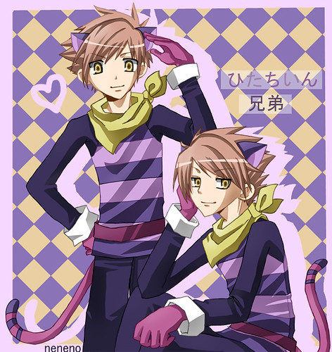 twins-cheshire by neneno