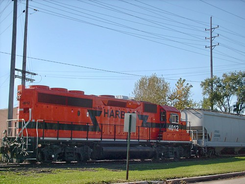 Indiana Harbor Belt industrial switching local. Melrose Park Illinois. October 2007. by Eddie from Chicago
