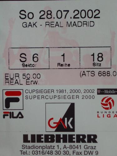 GAK - real madrid