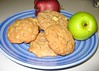 Autumn Apple Cookies