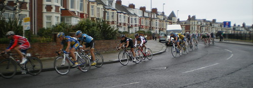 Tour of Britain in Whitley Bay 2008