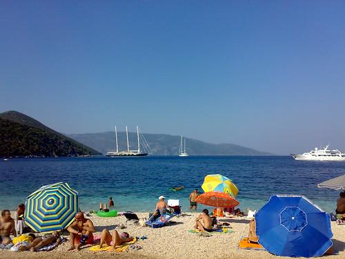 Antisamos beach, Kefalonia, Greece