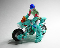 CM's Ride Armor Mospeada (t.birge) Tags: ride armor type stick mospeada