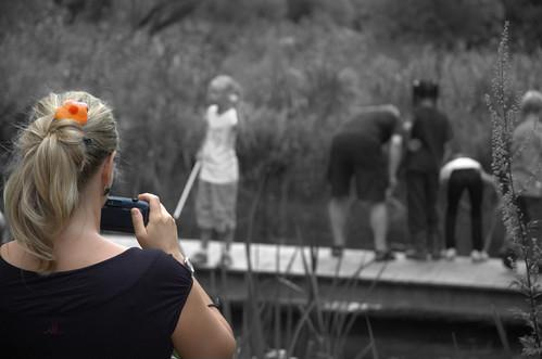 Taking a b/w photo by fahrradfritze, on Flickr