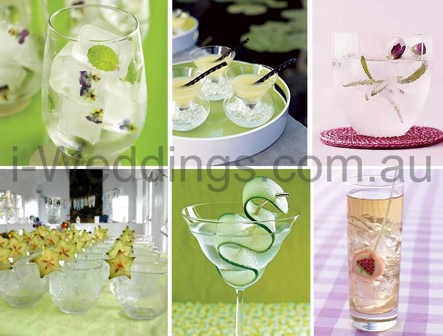 Cocktail Wedding Ideas: I-Weddings: ILoveThese Cocktail Ideas