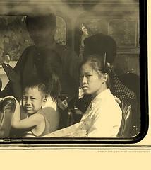 Bus passengers, Pyongyang (ShanLuPhoto) Tags: bus idea day propaganda flag north games korea communism kimjongil national leader mass dear socialism pyongyang dprk  juche kimilsung