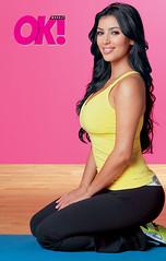 kim kardashian ok magazine picture