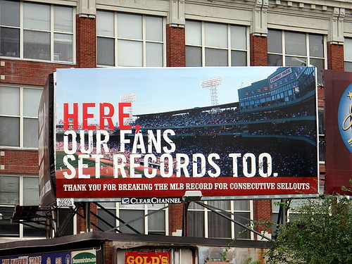 Here, Our Fans Set Records Too