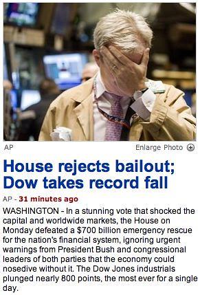 AP Bailout Headline